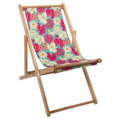 Navigate HotHouse Floral Deckchair