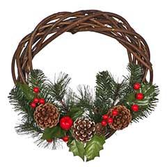 Christmas Wreaths, Swags & Garlands