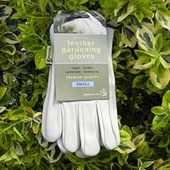 Leather Gardening Gloves - Small