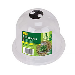 Bell Cloche 23cm Diameter - 3 Pack
