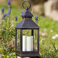 Smart Solar Kentish Lantern - 2 Pack