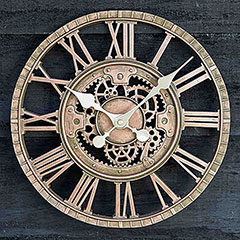 Smart Garden Newby Mechanical Wall Clock - 30cm