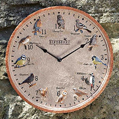 Birdberry Wall Clock - 30cm