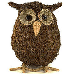 Ollie the Owl Garden Ornament - 23cm