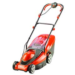 Flymo Chevron 34VC Electric Rotary Lawnmower - 34cm Blade / 40lt Capacity