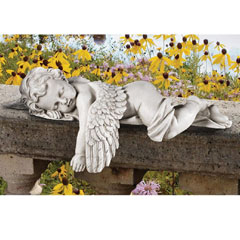 Design Toscano Sleepy Time Angel Statue Garden Statue