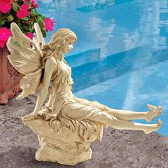 Design Toscano Twinkle Toes Fairy Garden Statue