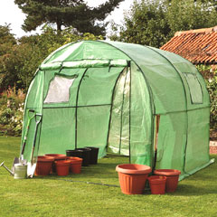 Kingfisher Polytunnel - 2m x 3m