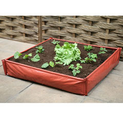 Haxnicks Instant Raised Bed Patio Planter 1m x 1m
