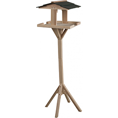 Ambassador Wooden Bird Table - 1.15m Height
