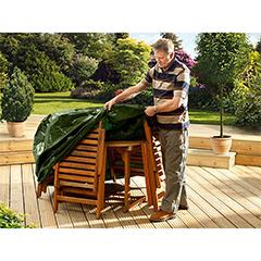 Ambassador 4 Seater Round Furniture Set Cover