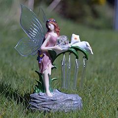 Innovators Fairy Solar Light with Wind Chimes