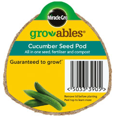 Miracle Gro Gro-ables�Cucumber Seed Pod