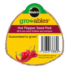 Miracle Gro Gro-ables�Hot Pepper Seed Pod