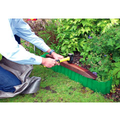 Kingfisher Plastic lawn Edging 9m