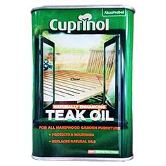 Cuprinol Garden Furniture Teak Oil 1L