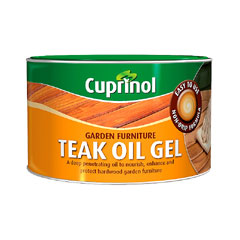 Cuprinol Garden Furniture Teak Oil Gel 500ml