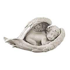 Design Toscano Cradled in Hope Cherub Statue - 32cm Width