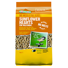 Gardman Sunflower Hearts For Wild Birds - 1kg