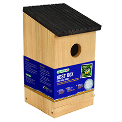 Wild Bird Nest Box - 23cm Height