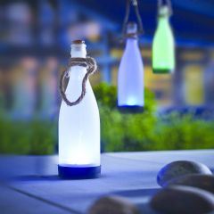 Cole and Bright Solar Hanging Bottle - 25cm Height