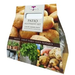 Patio Allotment Collection - Swift First Early - 3 Seed Potatoes