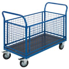 De Greef Platform Trolley With Clip Boards - 500kg