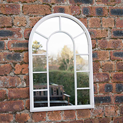 Ellister Arch Garden Mirror