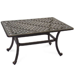 Ellister Stamford Rectangular Coffee Table  - 92cm Bronze