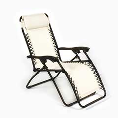 Ellister Royale Sun Lounger - Natural