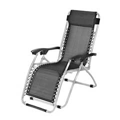 Ellister Royale Sun Lounger - Grey Frame