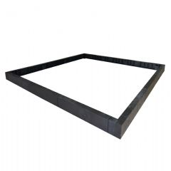 Palram Rion Greenhouse Base Kit - 8 x 8