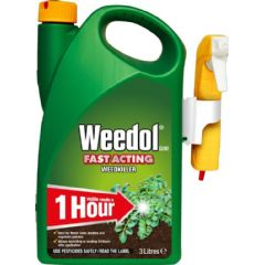 Weedol Fast Acting Weedkiller - 3L