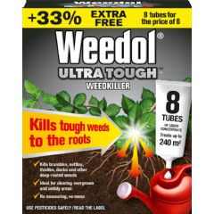 Weedol Ultra Tough Weedkiller - 8 Sachets