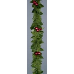 Premier Tinsel with Holly and Berries - 2.7m