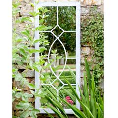 La Hacienda Tall Rectangular Garden Mirror