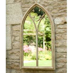 La Hacienda Church Window Garden Mirror