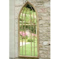 La Hacienda Large Arch Garden Mirror