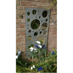 Bubbles Wall Panel Mirror - 2ft x 4ft