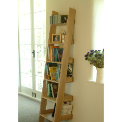 Garden Trading Hambledon Oak Shelf Ladder - Small