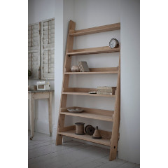 Garden Trading Hambledon Oak Shelf Ladder - Wide