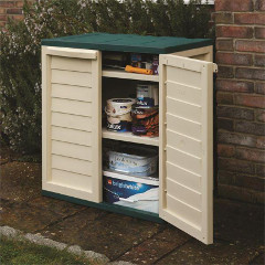 Rowlinson Plastic Utility Cabinet -  2.5 x 3ft