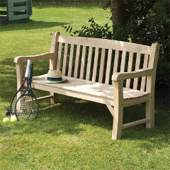 Rowlinson FSC Oak Bench