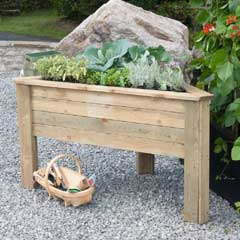 Zest 4 Leisure FSC Deep Root Corner Planter 1.5m