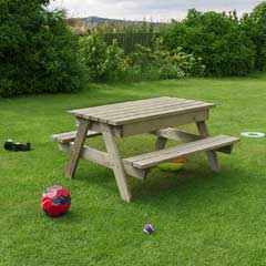 Zest 4 Leisure Alice FSC Kids Picnic/ Play Table 120cm