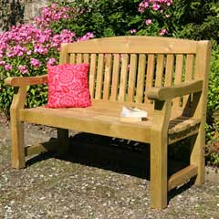 Zest 4 Leisure Emily FSC Wooden Bench 5ft