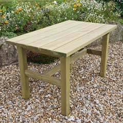 Zest 4 Leisure Emily FSC Wooden 160cm  Rectangular Table