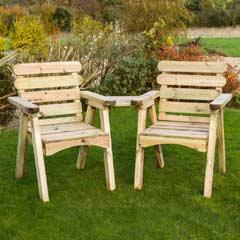 Zest 4 Leisure Abbey FSC Wooden Companion Seat