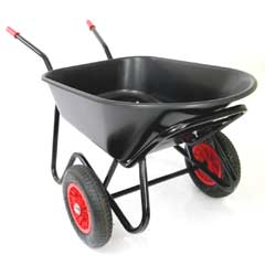 Two Wheeled Wheelbarrows