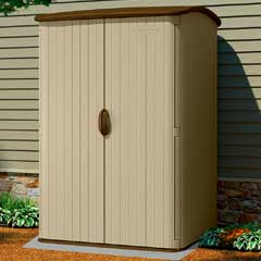 Suncast Resin Conniston Vertical Storage Sheds